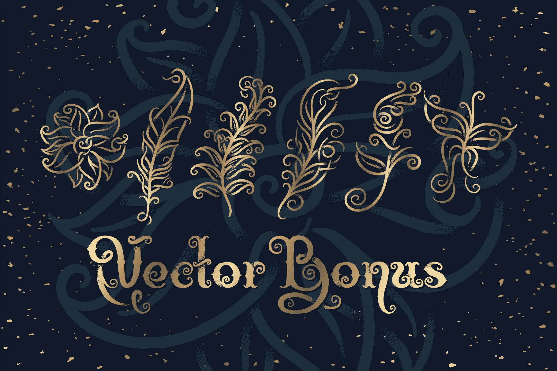Magic Garden Font & Graphics example image 5