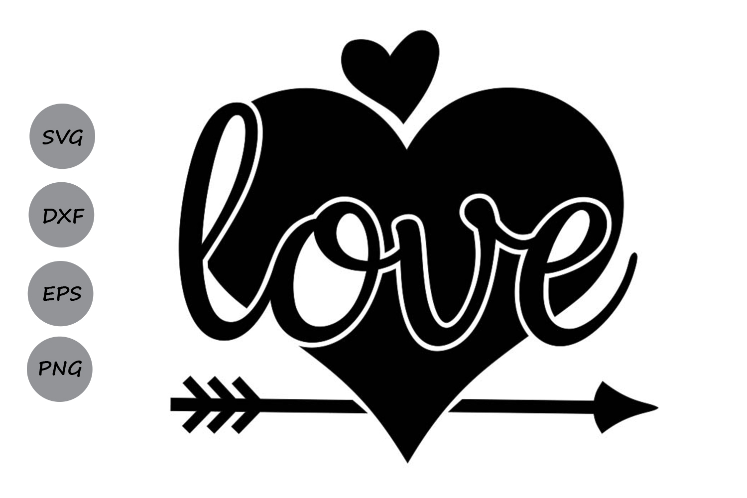 valentines day svg, love svg, heart svg, valentine svg. example image 2
