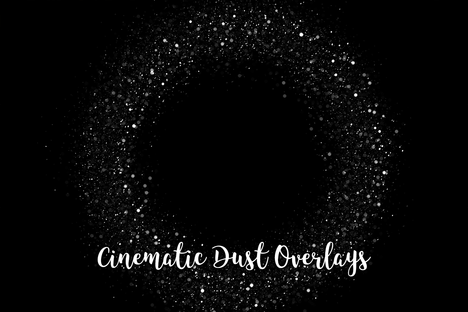 Cinematic Dust Photo Overlays, Bokeh Light Effects example image 9