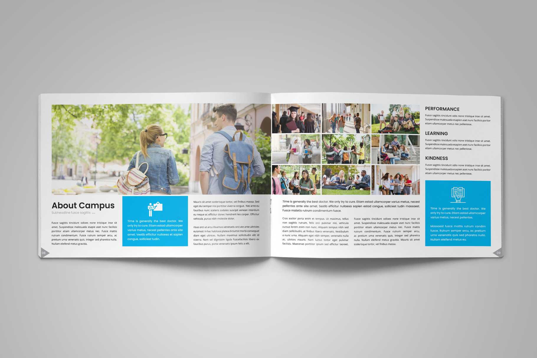 Education Prospectus Brochure v12 example image 7