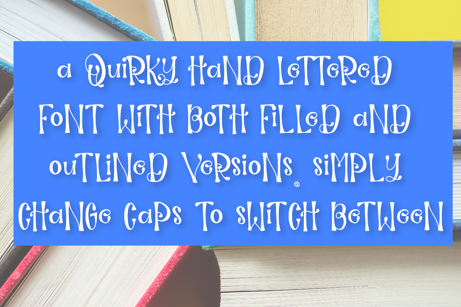 Guidebook - Hand lettered Whimsy Font example image 8