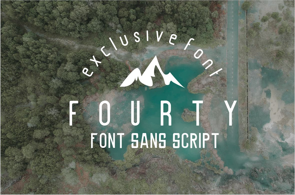 Fourty Font  example image 1