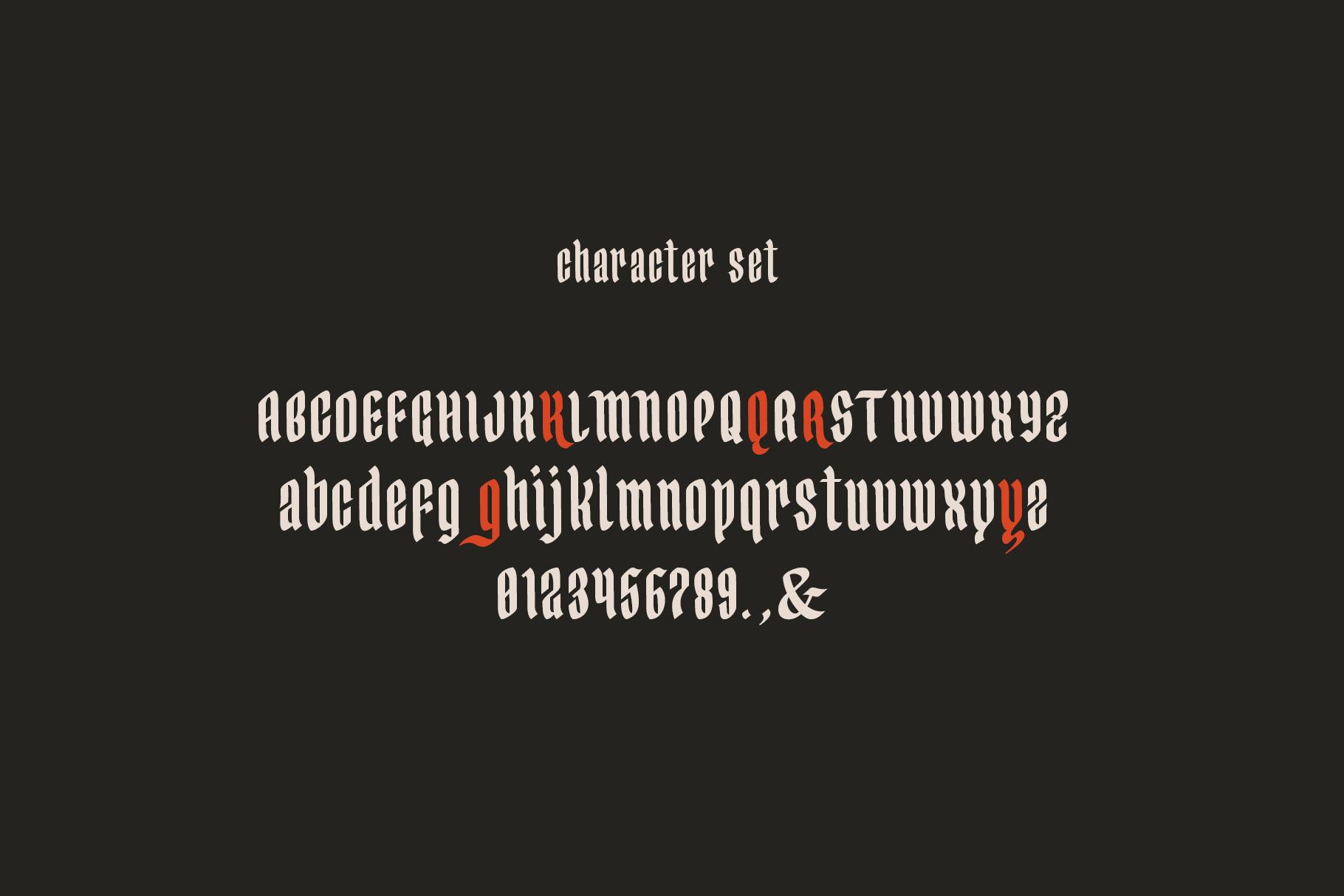 Yerington Typeface example image 10