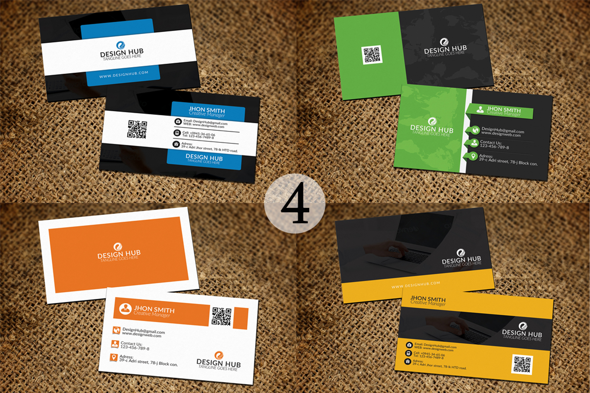 32 Business Cards Bundle Deal example image 5