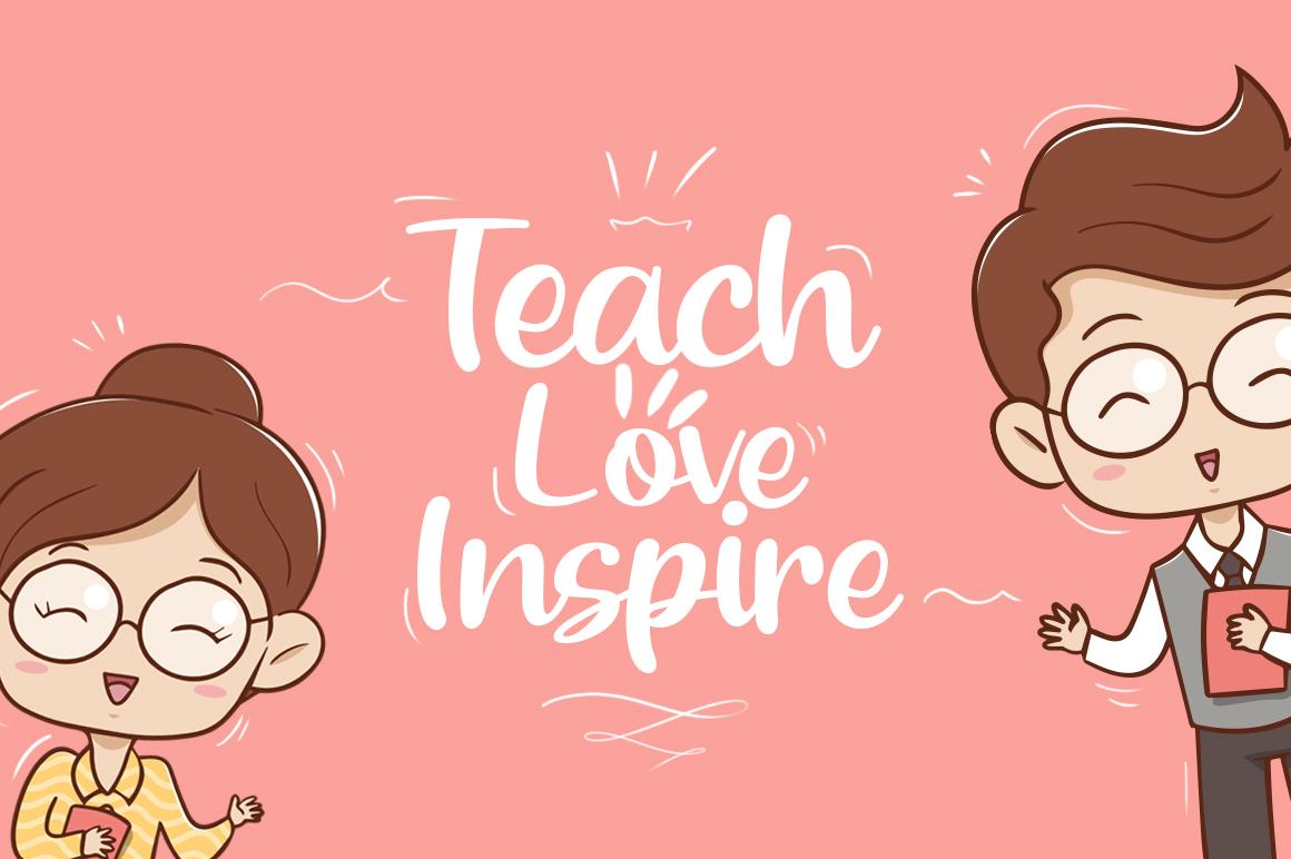 Beloved Teacher example image 3