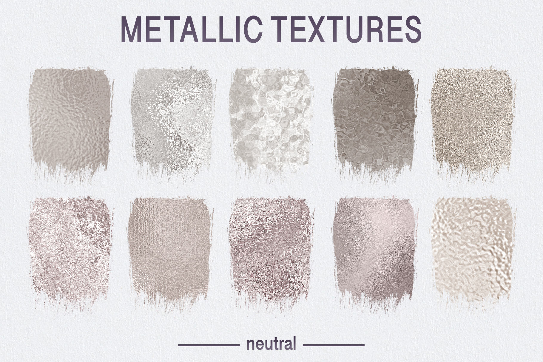 Seamless Textures & Patterns Bundle - Shabby Chic Design Kit example image 12