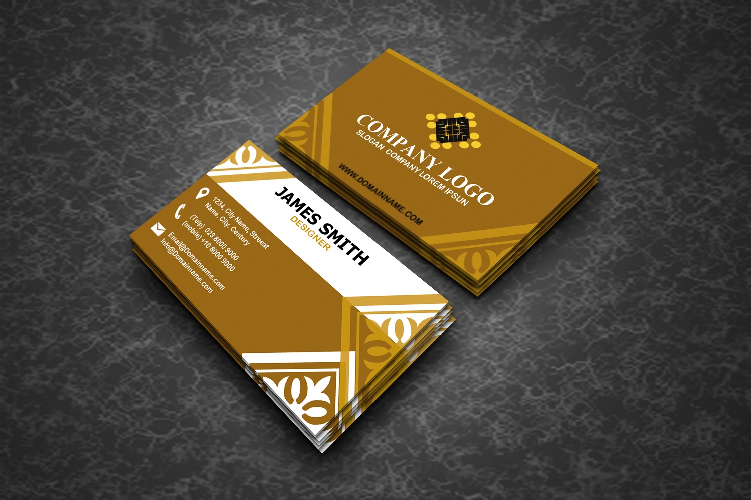 Elegant Business Card example image 3