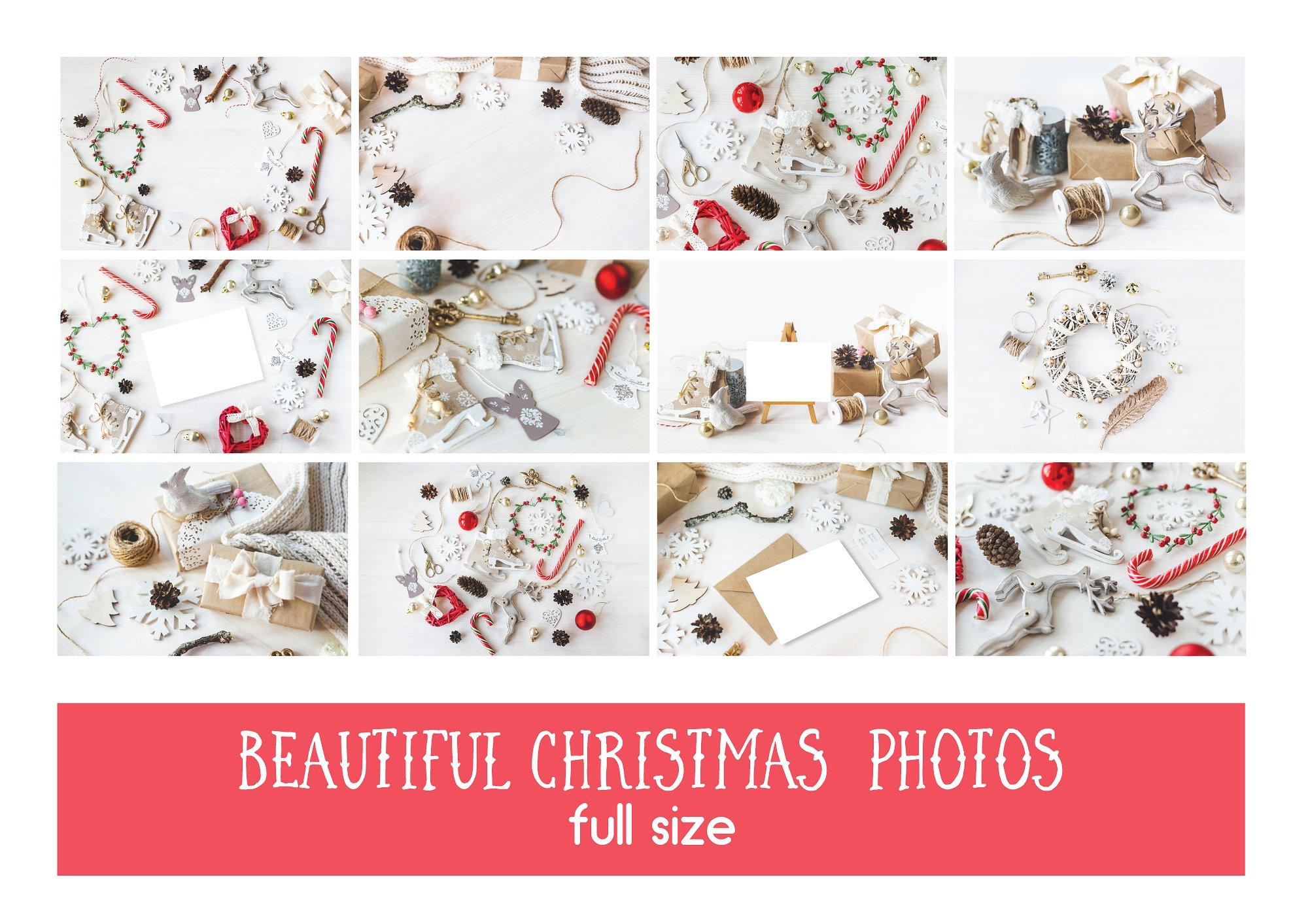 75% OFF 12 Vintagy Christmas Photos example image 2