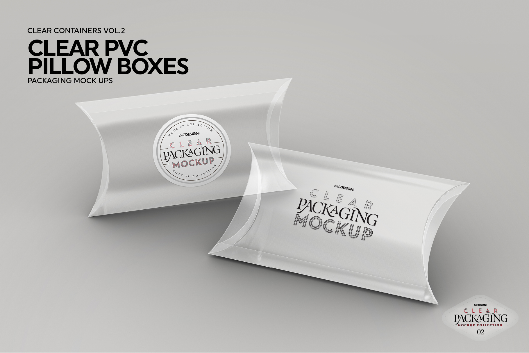 VOL.2 Clear Packaging Mockup Collection example image 16