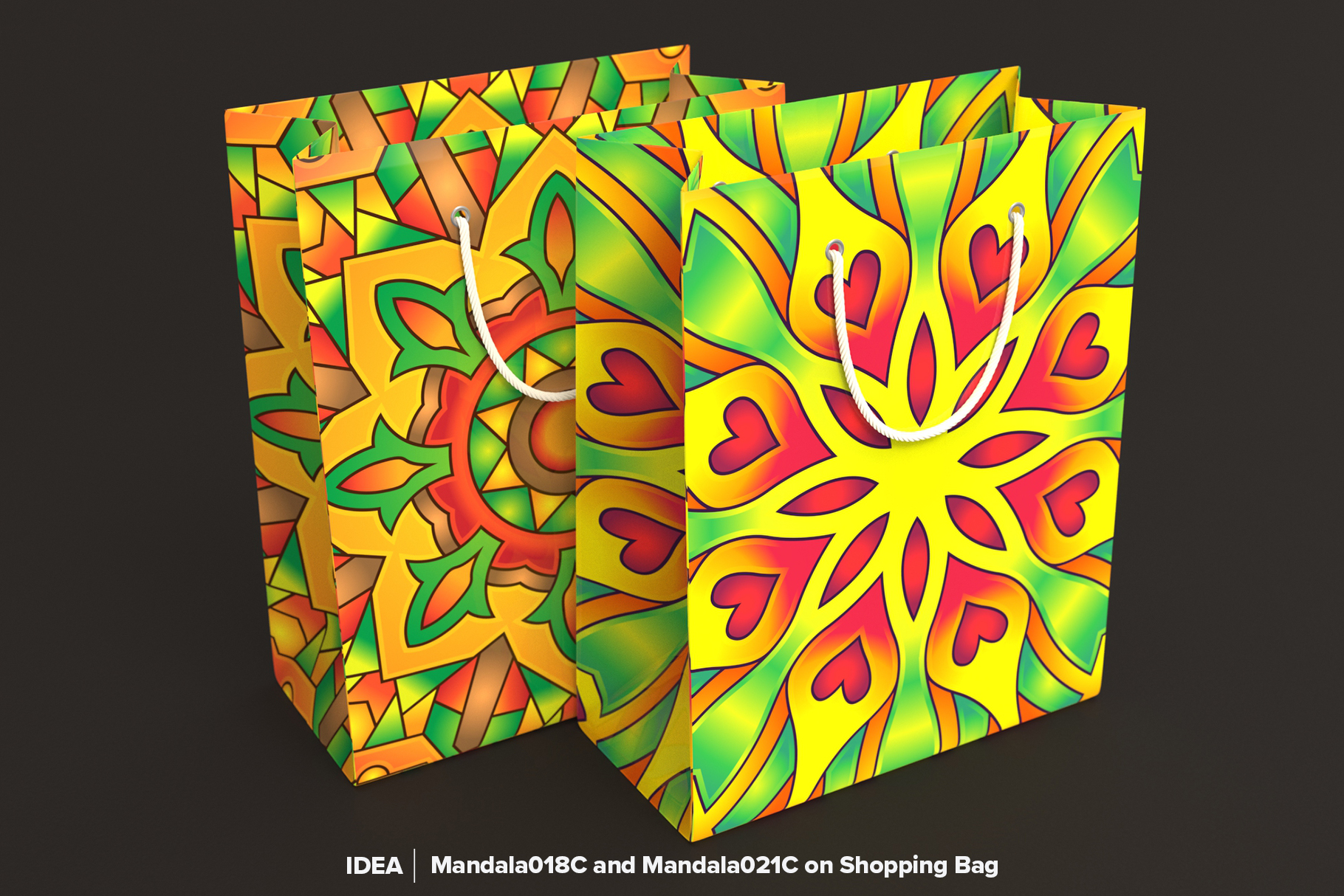 Mandala Vector Ornaments Bundle example image 21