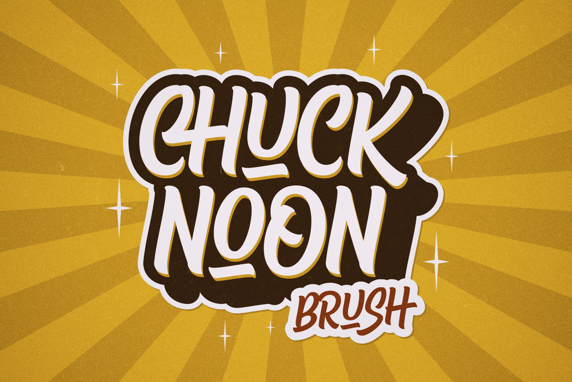 Chuck Noon Brush example image 2