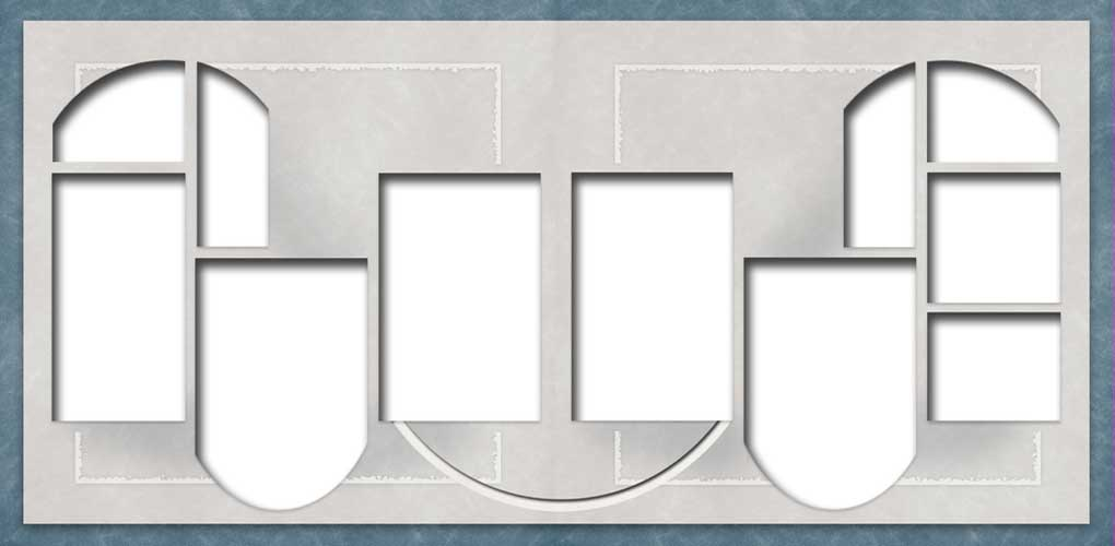 Digital Scrapbook Templates Bundle 3 example image 6