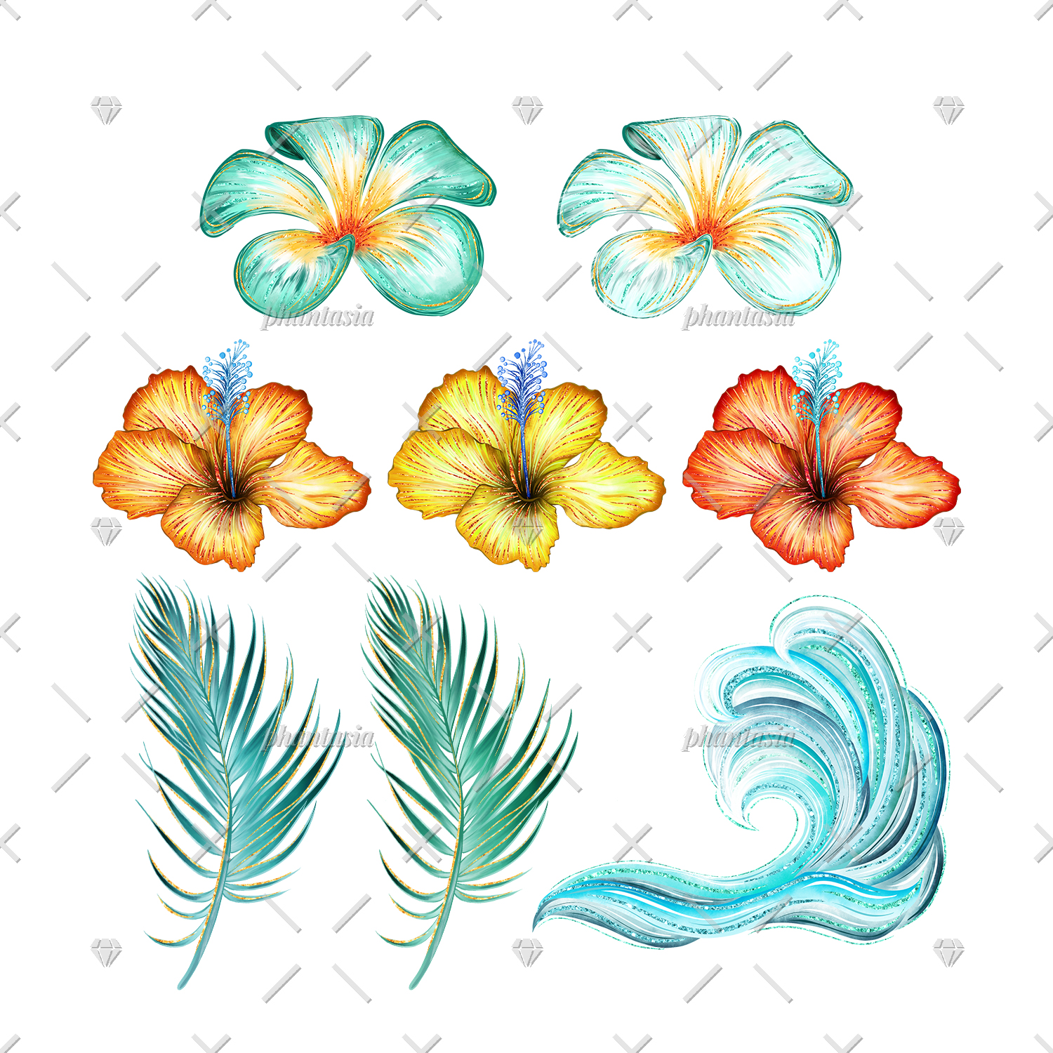 Surfer Girl Cliparts example image 2