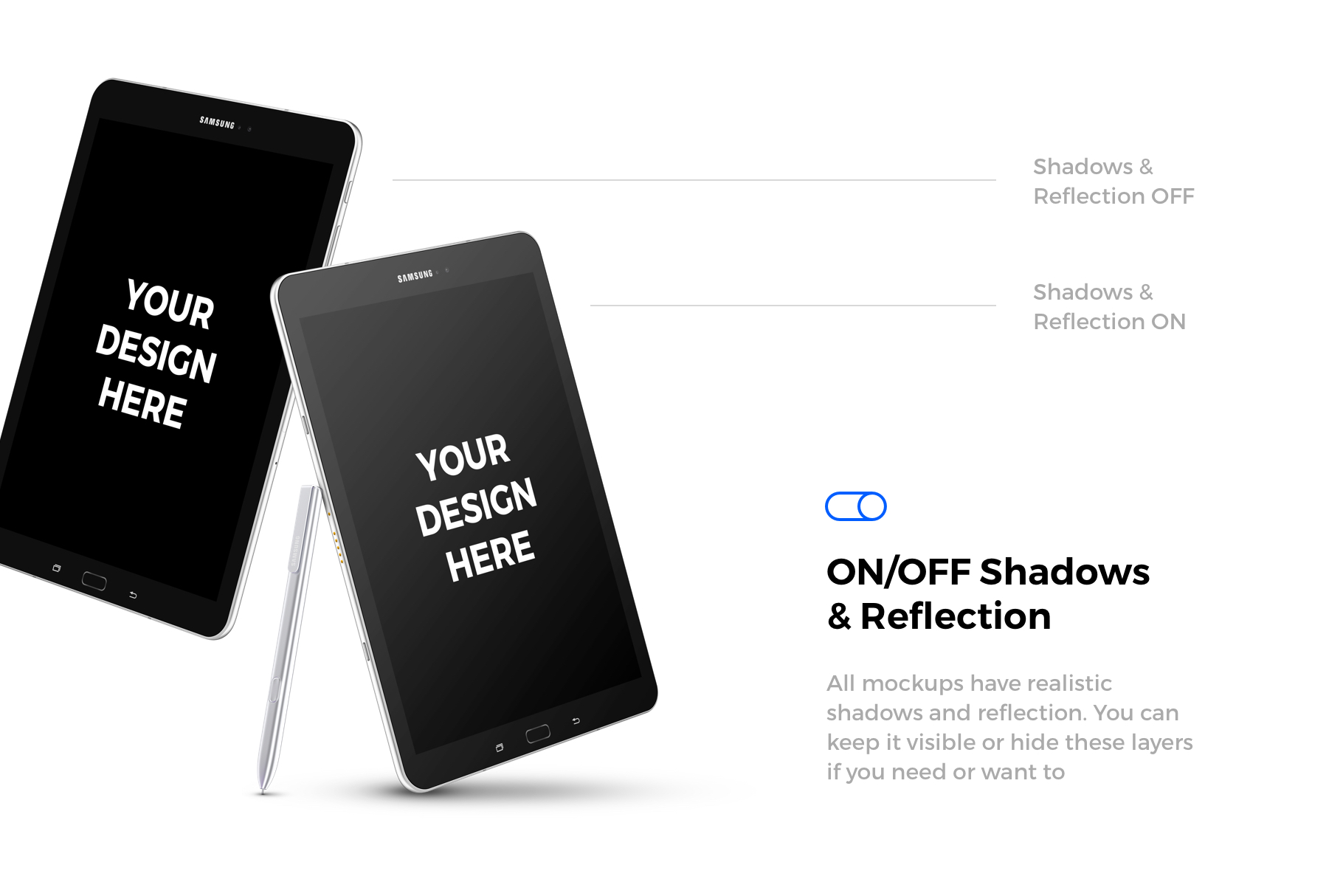 91x Android & Windows Mockups example image 6
