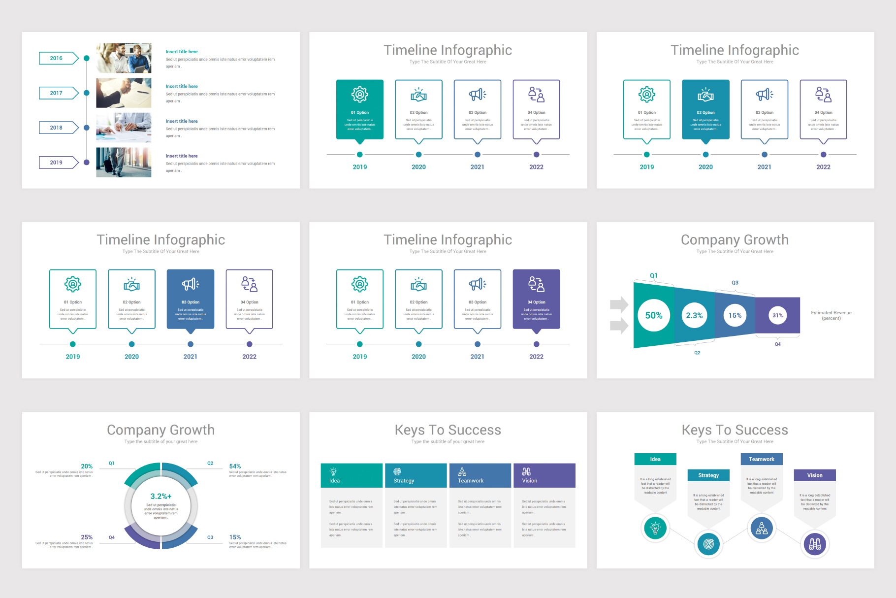Annual Report Keynote Template example image 13