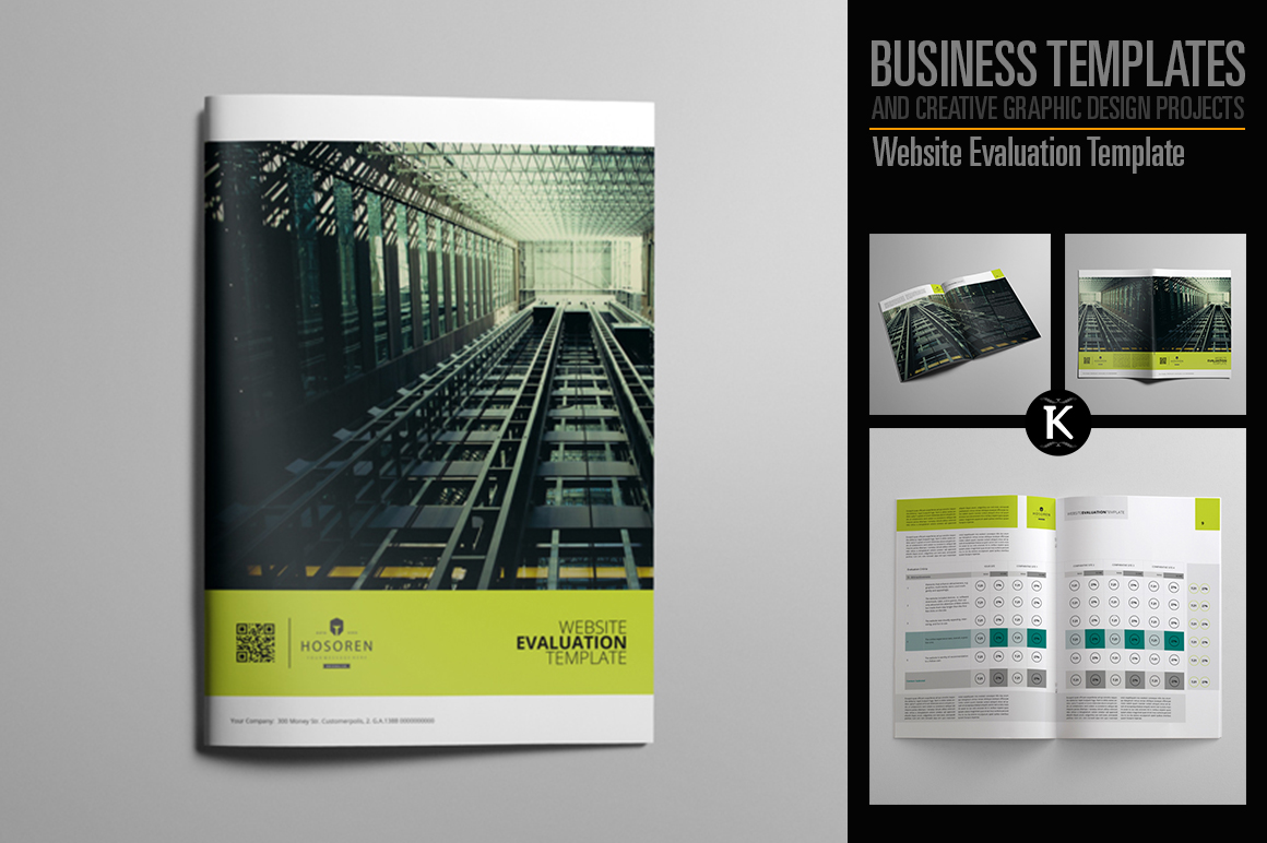 Website Evaluation Template example image 1