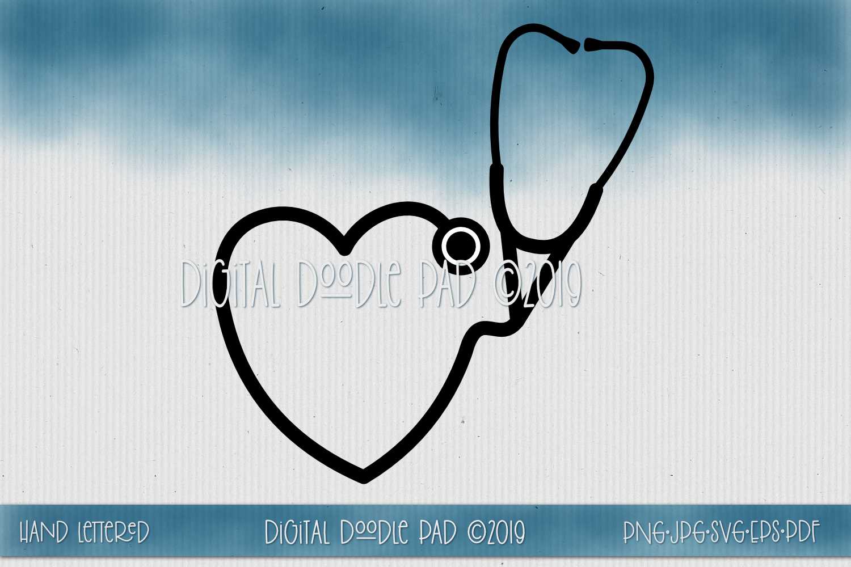Nurse SVG Mini Bundle by Digital Doodle Pad example image 3