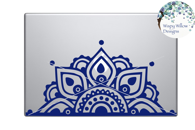 Mandala SVG Bundle   Half Mandala  Personalized Name Mandala example image 3