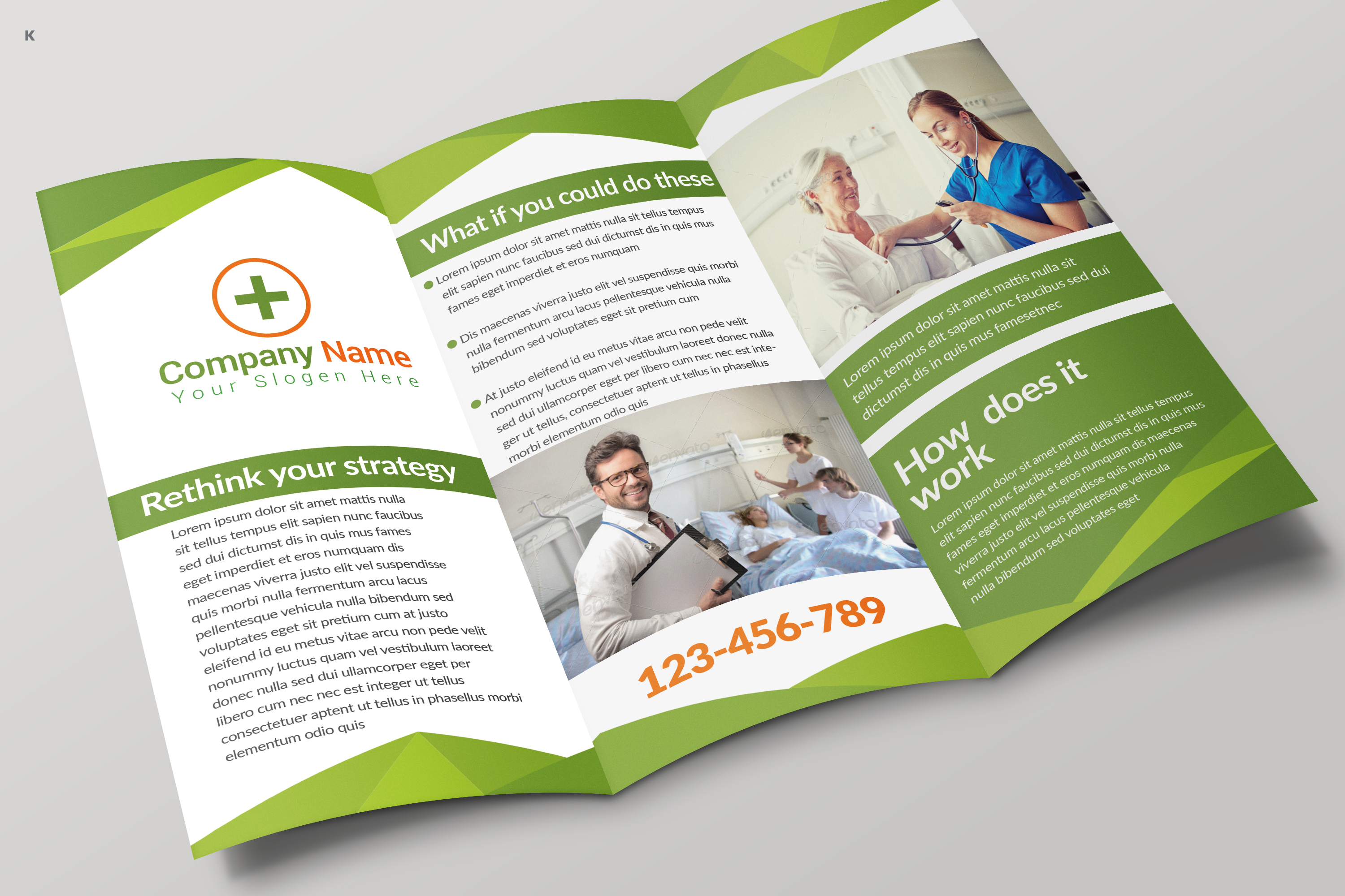 Health Care Trifold example image 4