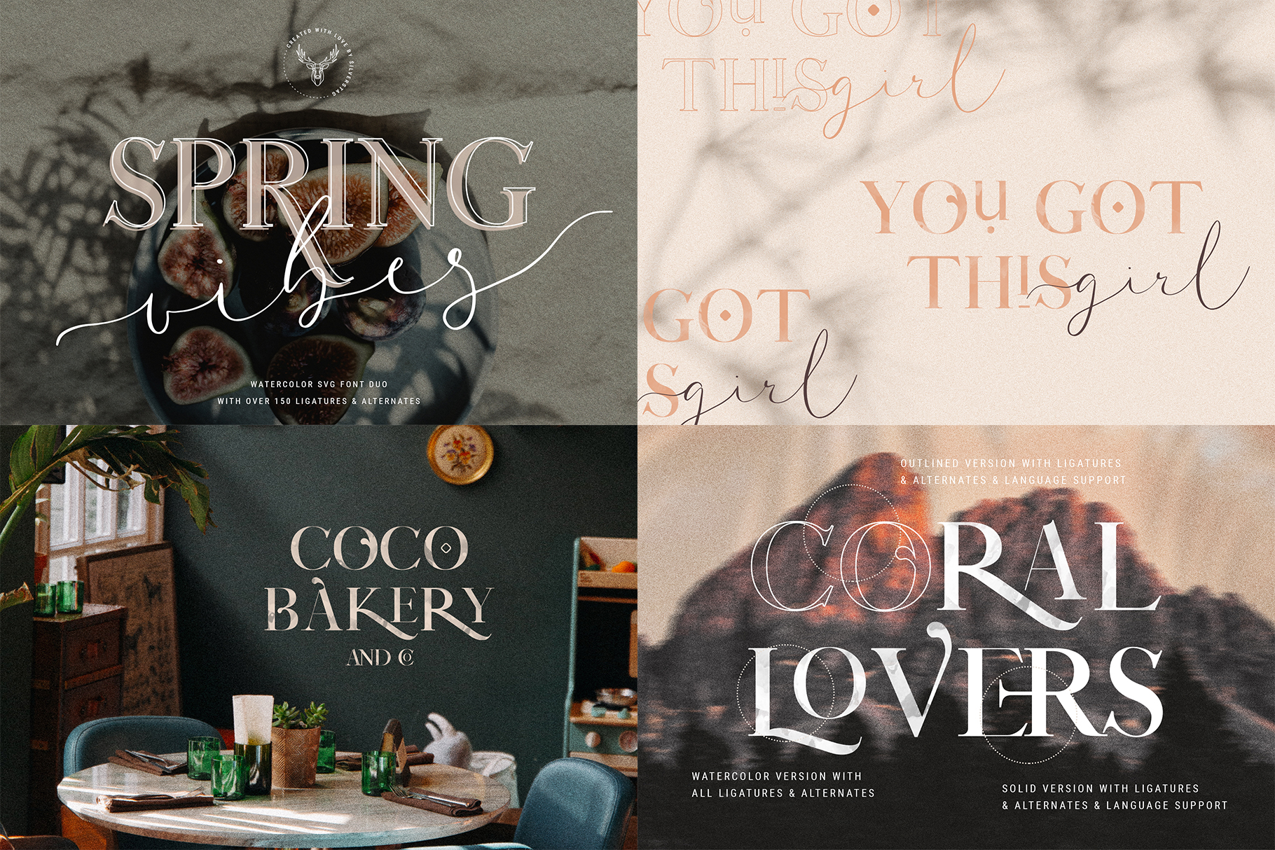 Font Bundle - Limited Time Edition With 80 Percent OFF example image 17