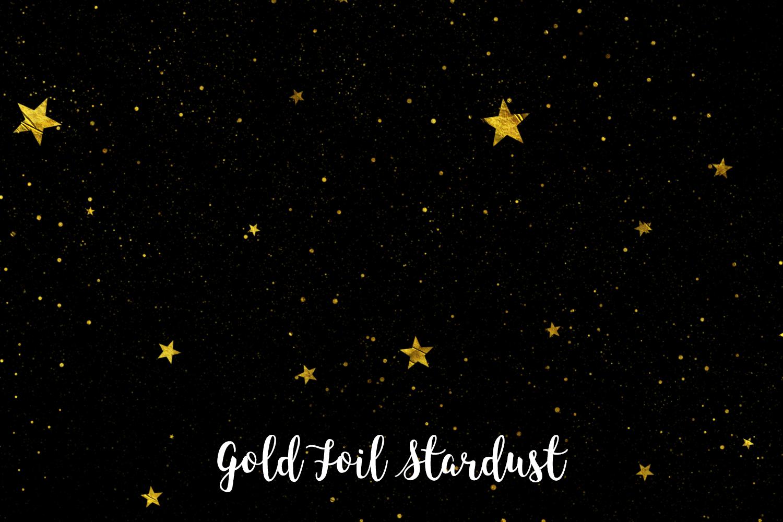 Gold Foil Stardust, Transparent PNG example image 9