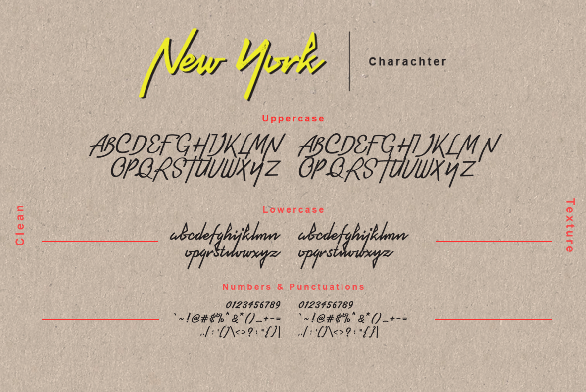 Newyork Bronx sans-script font duo example image 10