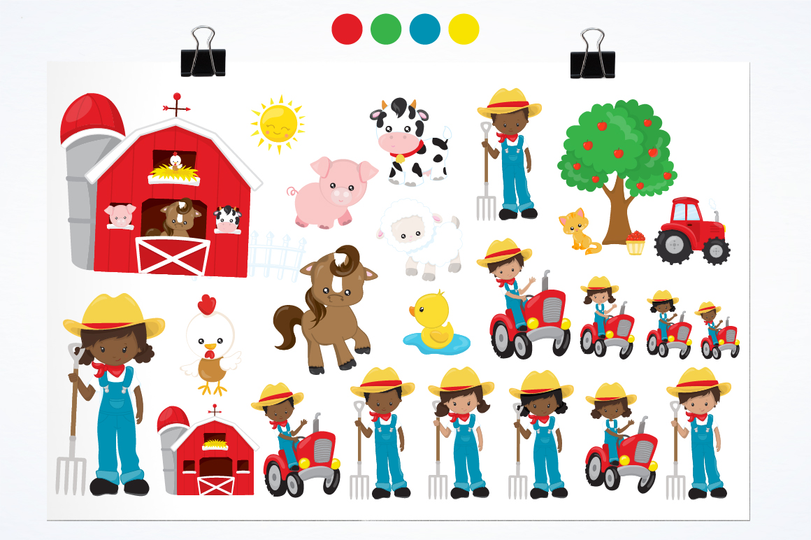 My Farm graphics and illustrations example image 5