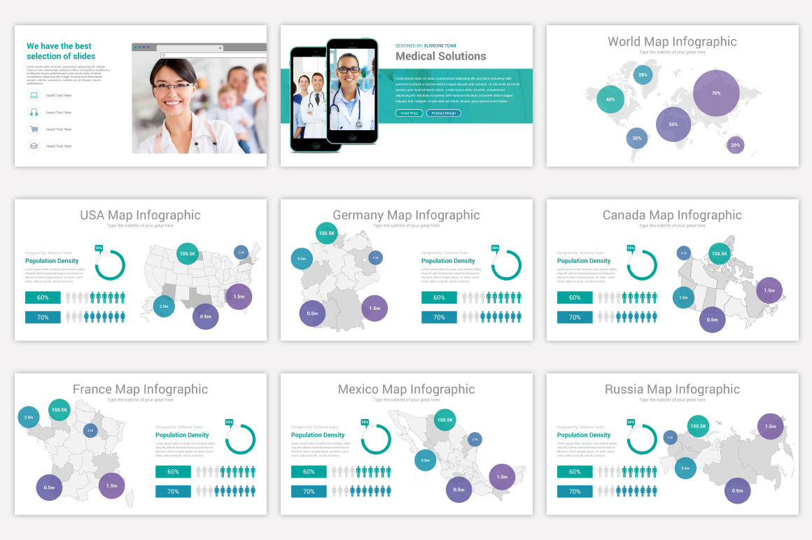 Medical Keynote Template Solutions example image 13