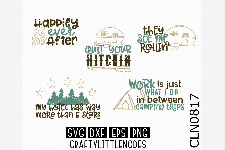 Camping Bundle SVG example image 1