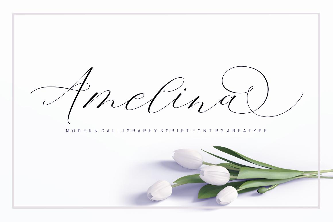 Amelina Script example image 7