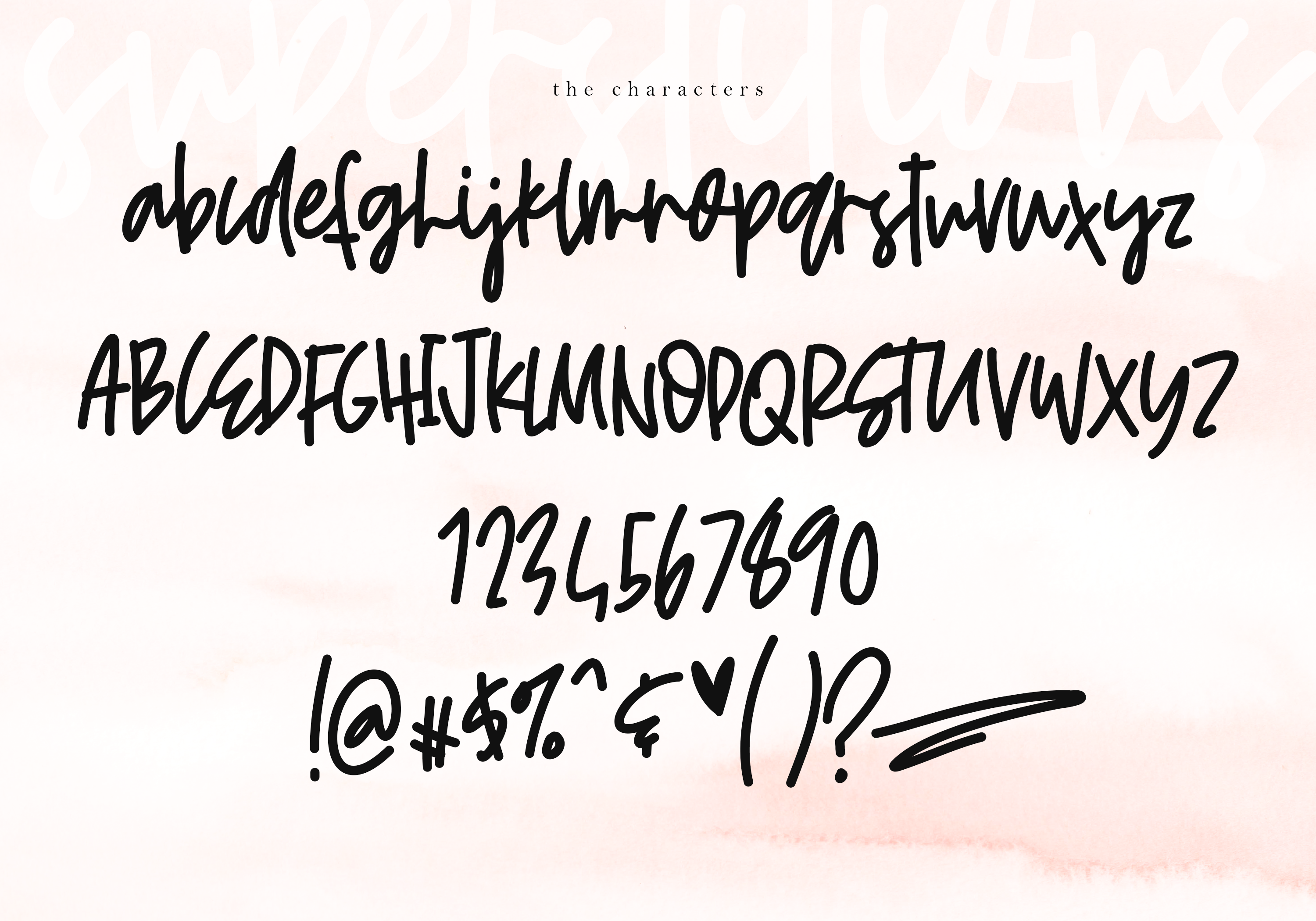 Superstitious - Bold Script Font example image 10