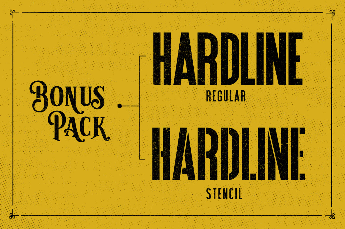 Sarcastic Typeface + Extras example image 5