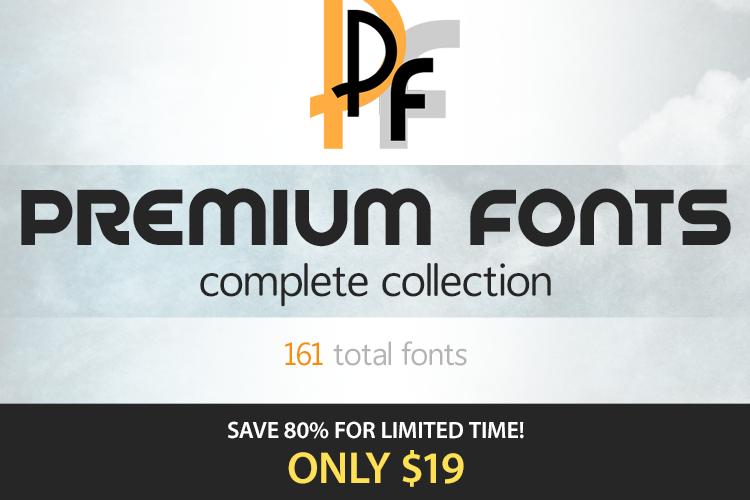 Premium Fonts example image 1