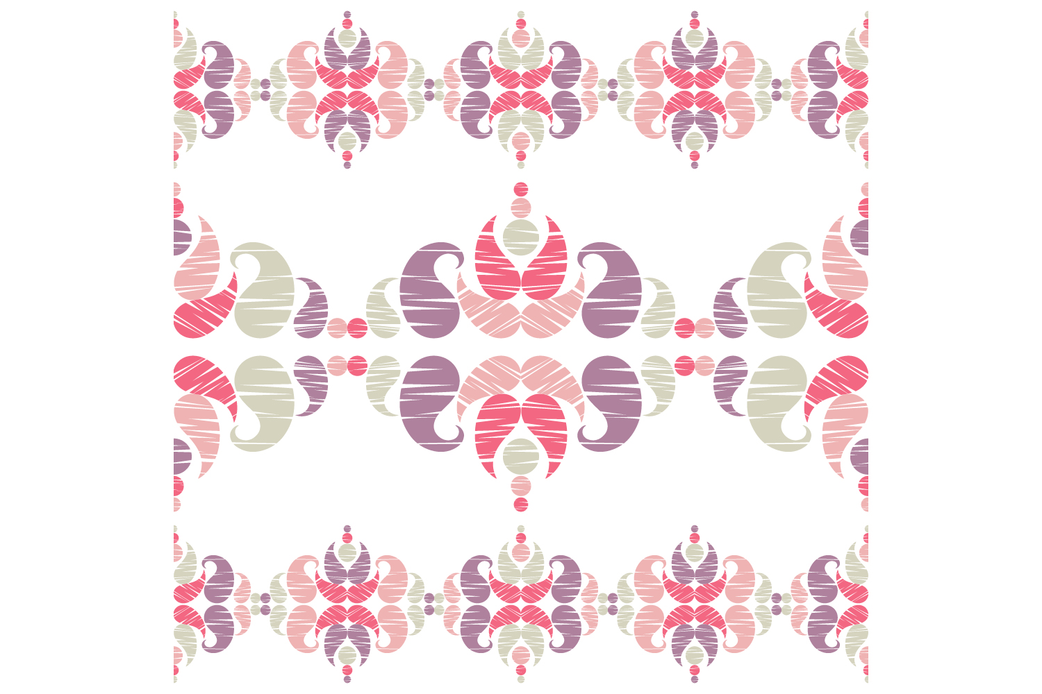 Paisley ornament. Set of 10 seamless patterns. example image 7