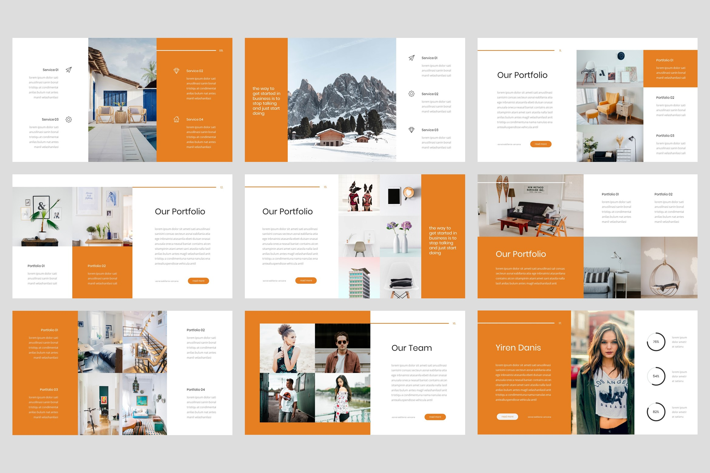 Labs - Creative Keynote Template example image 3