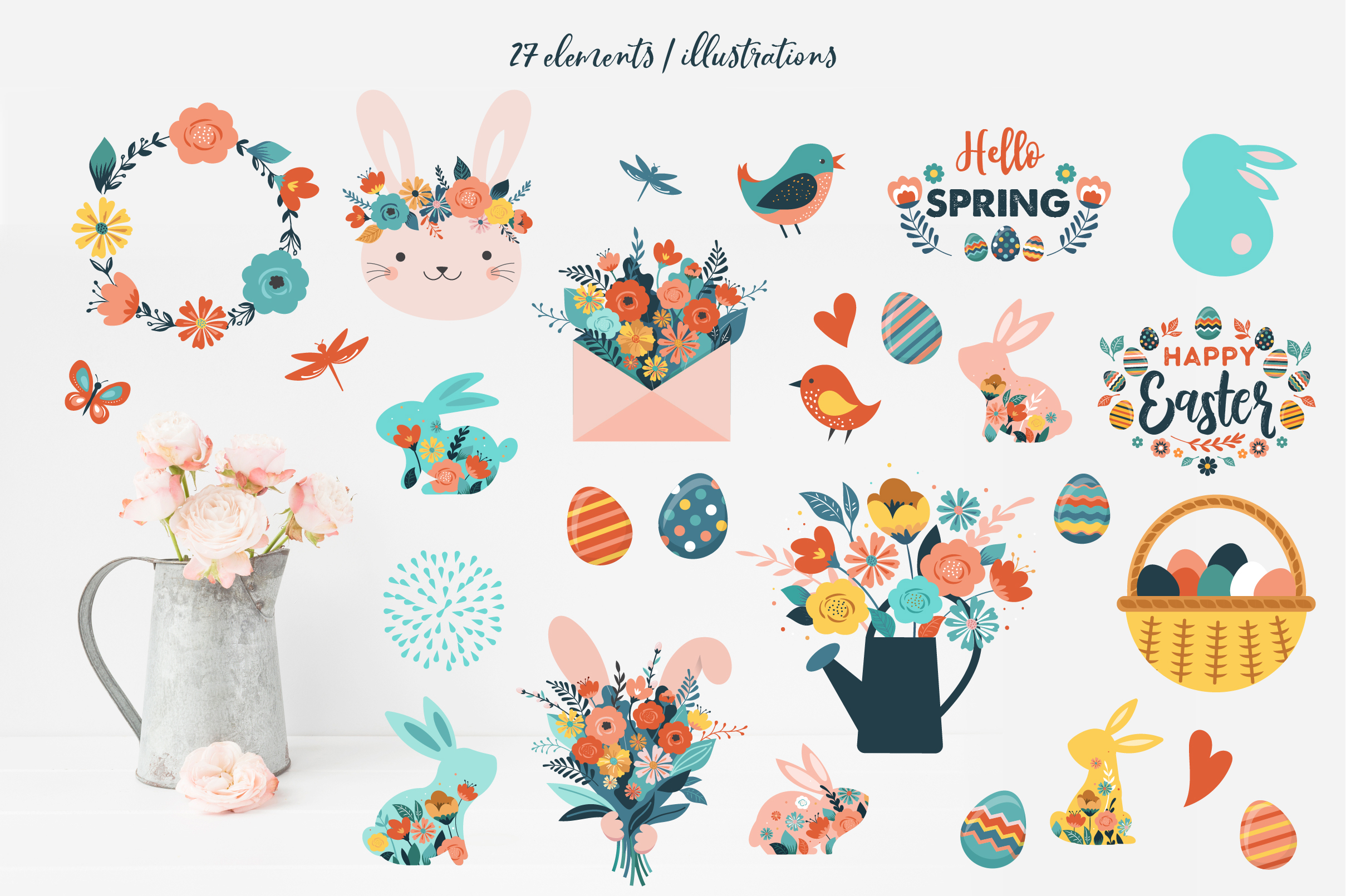 Hello Spring I Easter collection example image 3