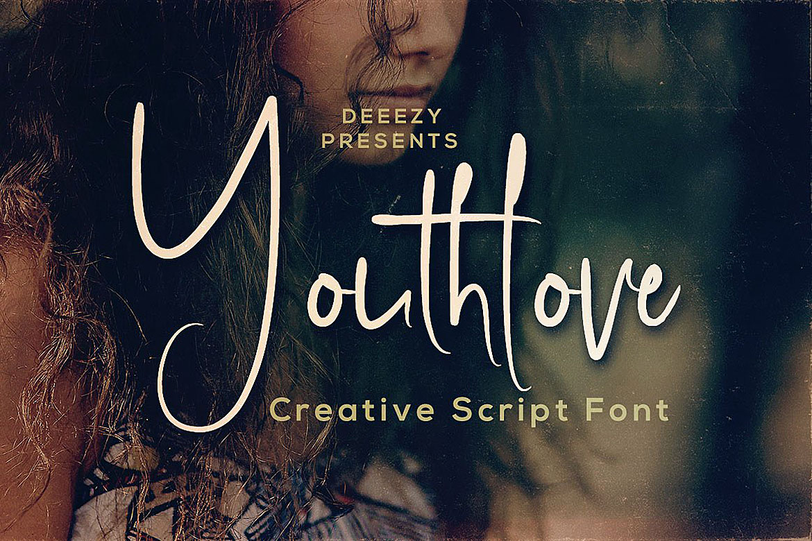 Youthlove Script Font example image 1