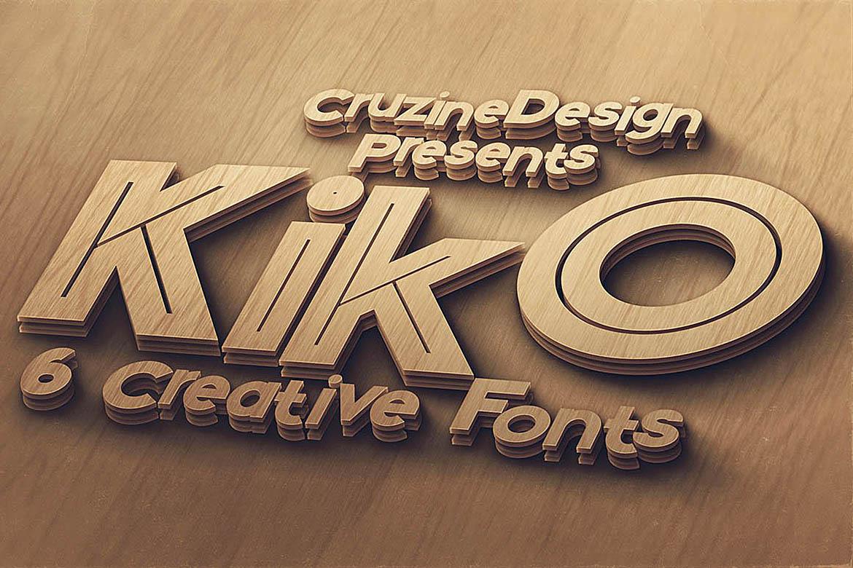 Kiko - Funny Display Font example image 5