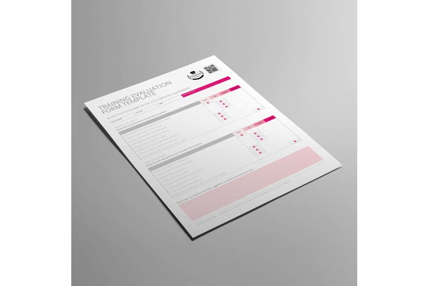 Training Evaluation Form Template US Letter example image 4