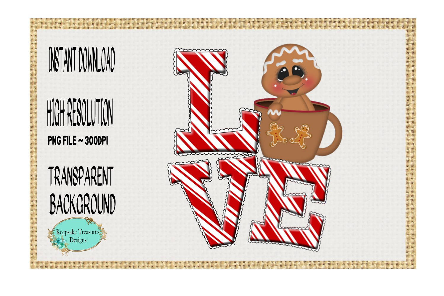Love Gingerbread Cup example image 1