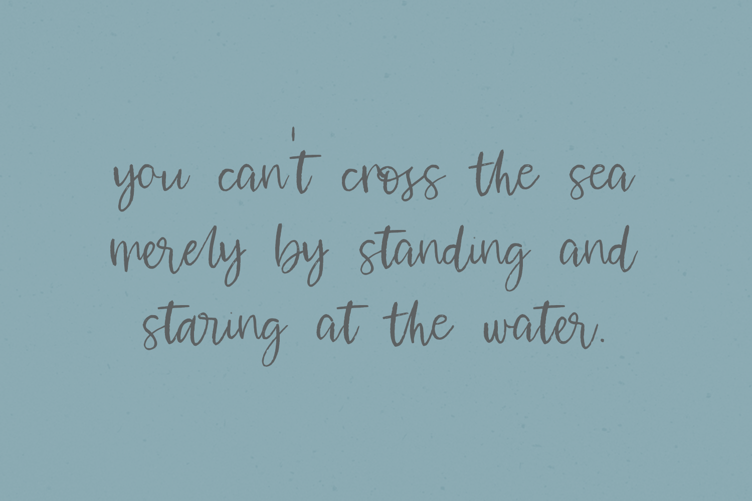 Waterssong Brush Script example image 2
