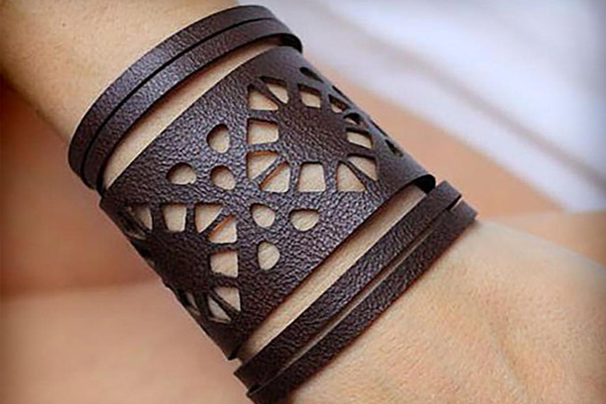 Leather Bracelets Svg Vol I Bundle Cutting Templates Example Image 4