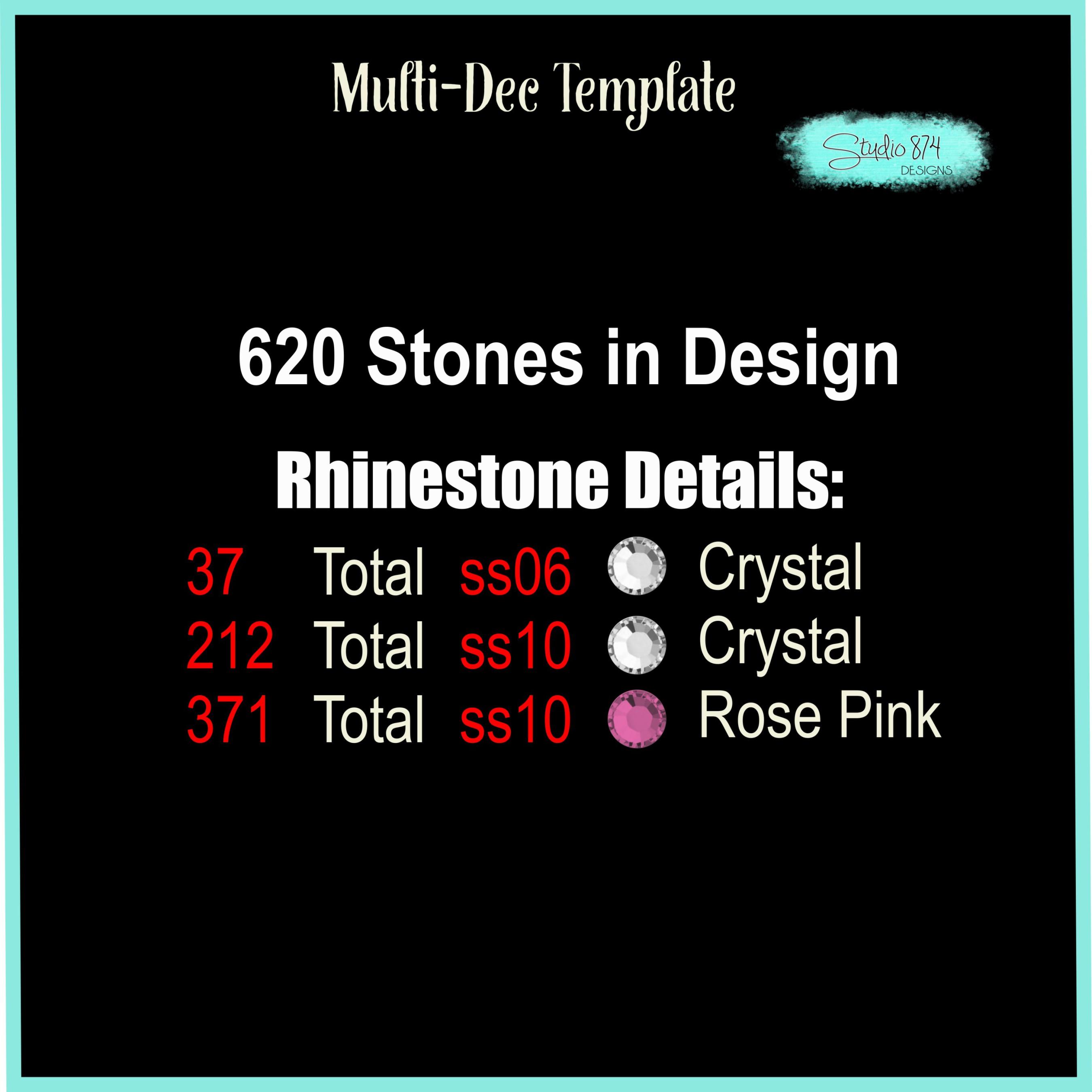 Stepping Into My Birthday Rhinestone Template - Boss R4 example image 3
