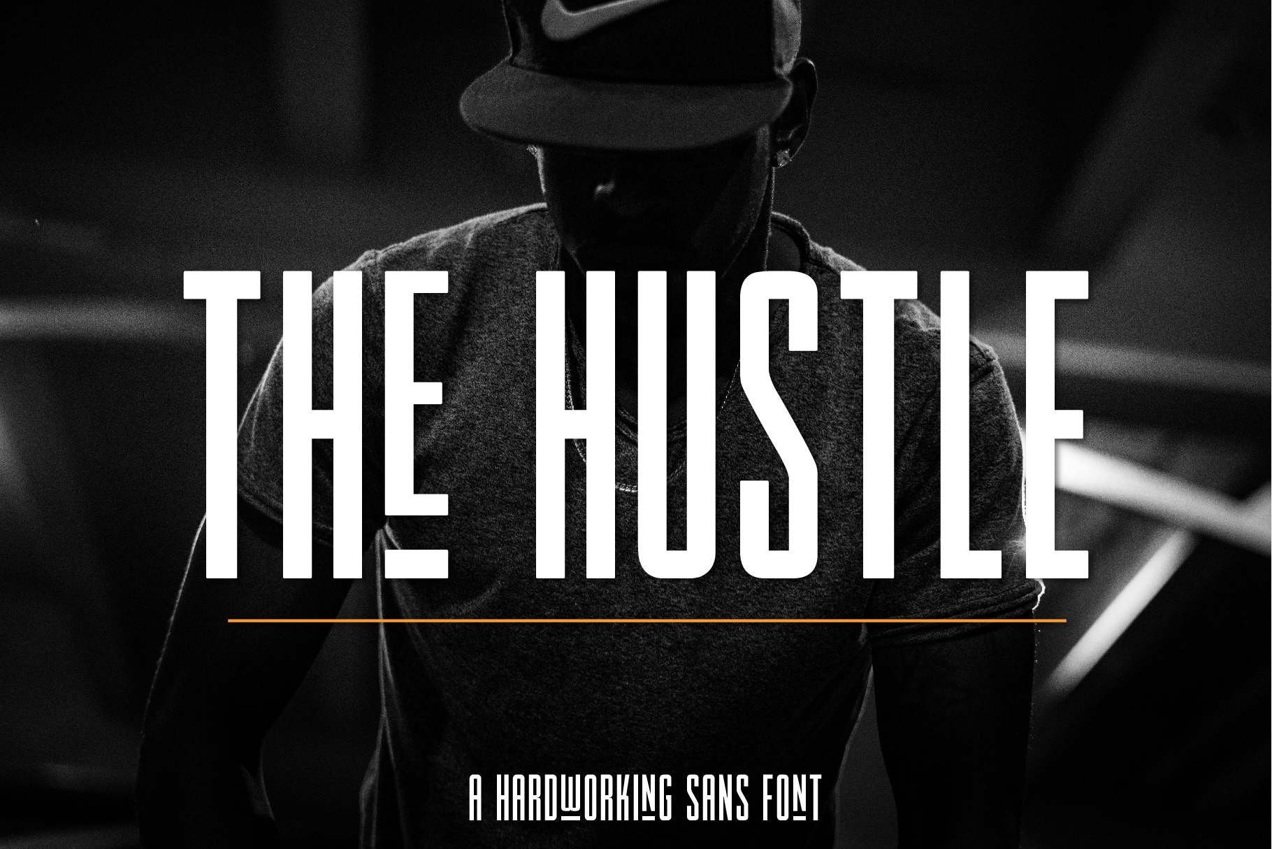 The Hustle Font example image 1