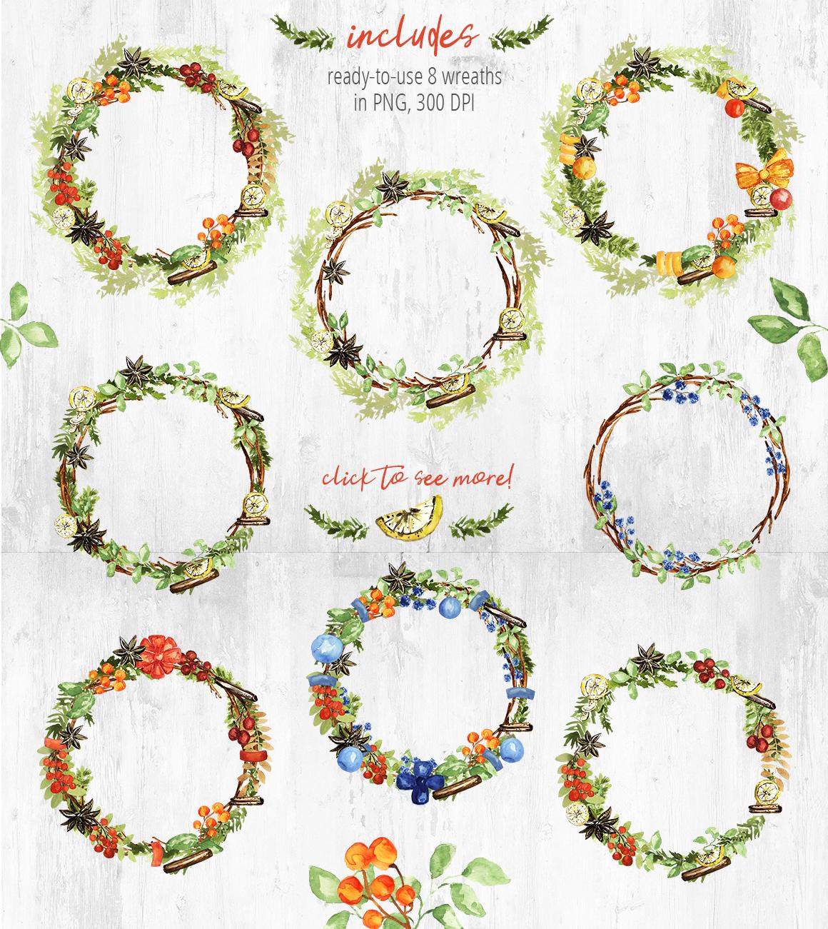 Christmas Wreath Creator example image 6