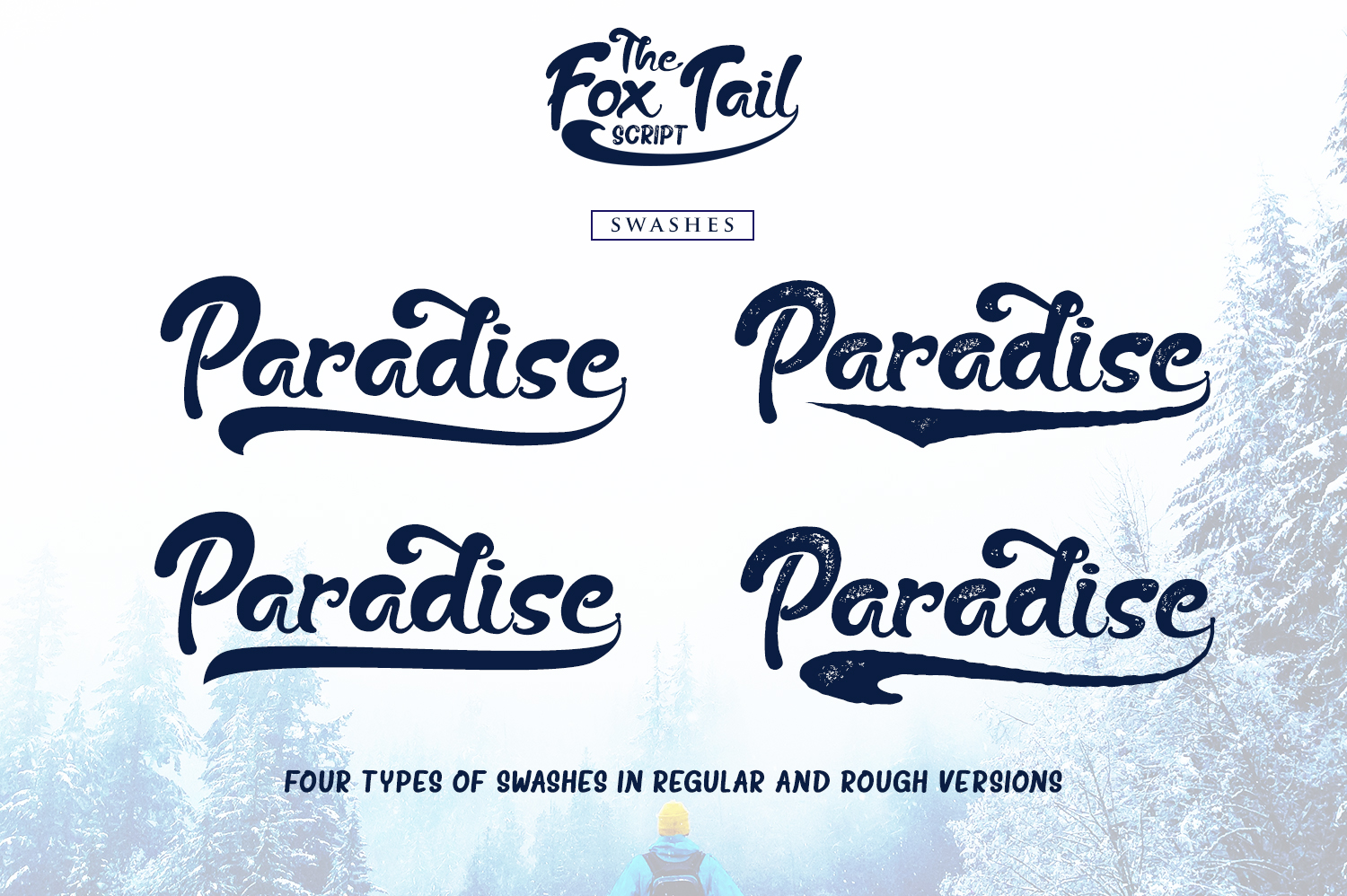 The Fox Tail - Font Duo&Extras example image 8