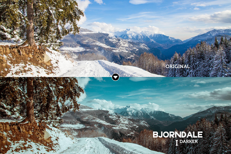 Bjorndale Presets for Lightroom & ACR, Desktop & Mobile example image 7