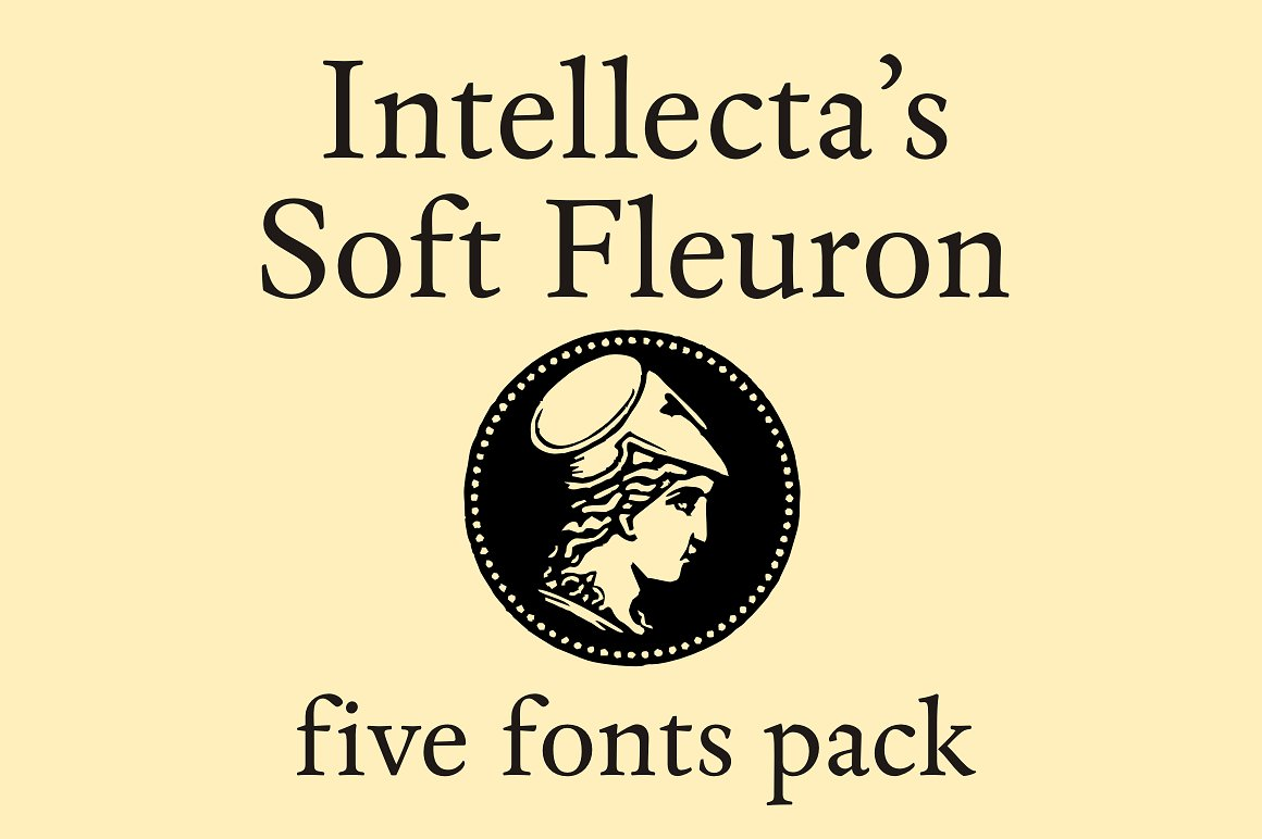 Soft Fleurons Pack - five fonts example image 1