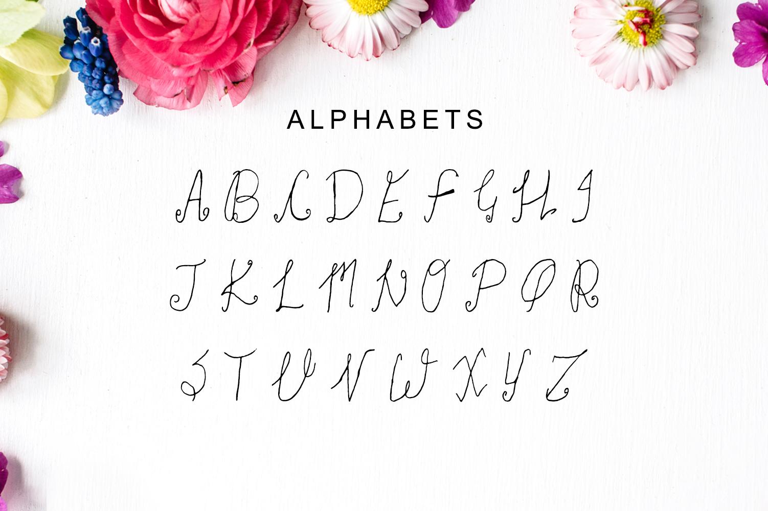 Khwaja Script Typeface example image 4