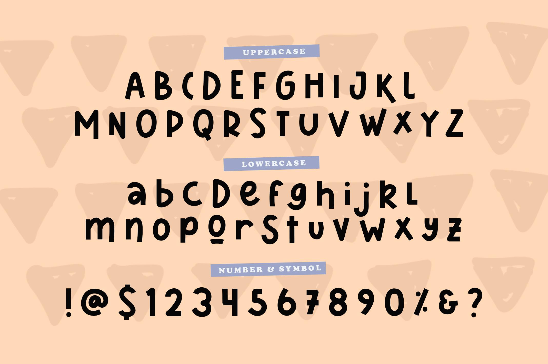 Sharkines   Playful Kids Font example image 4
